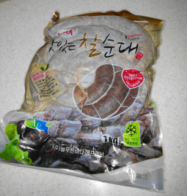 Sundae Korean Sausage Packet