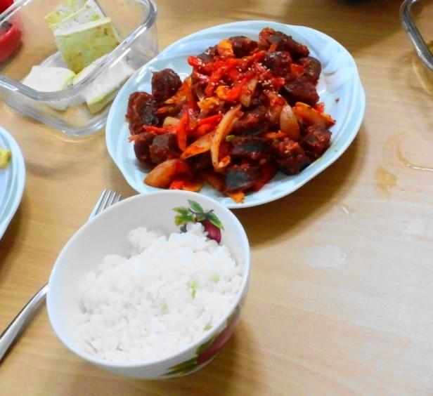 Sundae Menu Korean Homemade