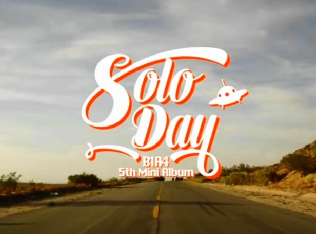 B1A4 Solo Day - Banner