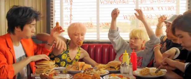 B1A4 Solo Day - Diner