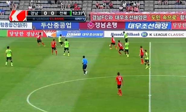 Gyeongnam vs. Jeonbuk Hyundai July