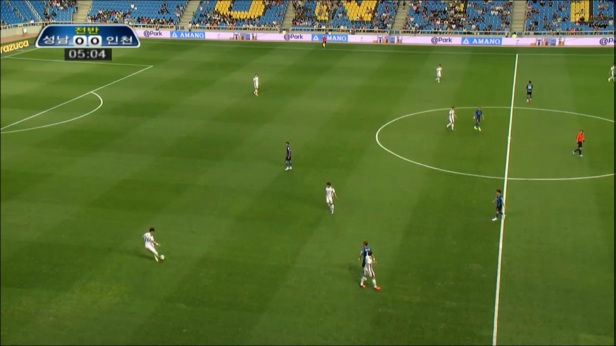 Incheon United vs. Seongnam FC July
