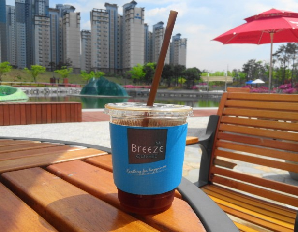 Mr. Breeze Coffee Korea - Cheongna Park