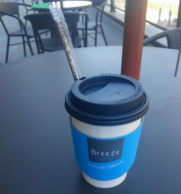 Mr Breeze Coffee Korea Hot Table