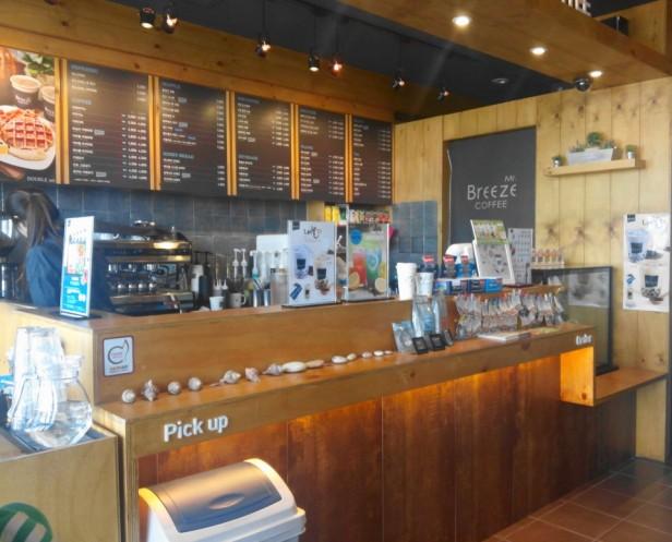 Mr Breeze Coffee Korea Inside
