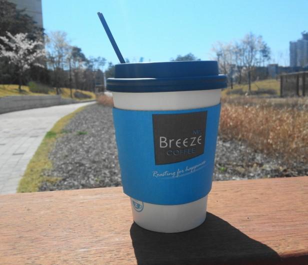 Mr Breeze Coffee Korea Take out Park