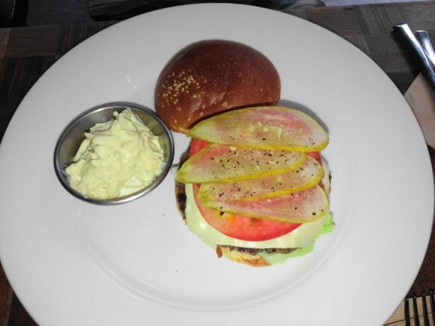 Prost Pub and Grill Itaewon Seoul Burger 2