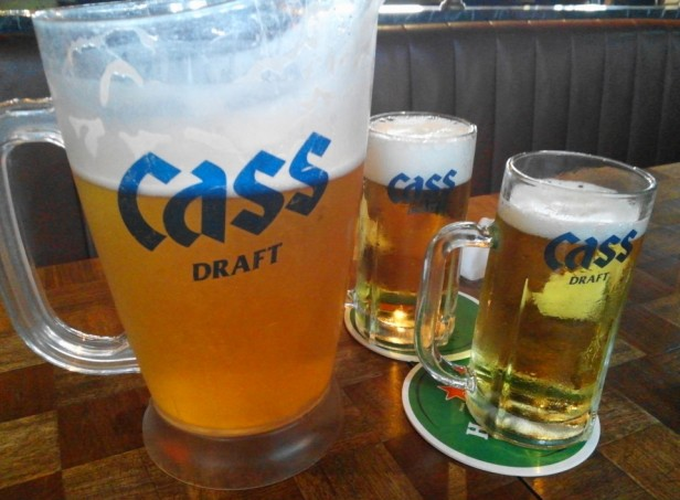 Prost Pub and Grill Itaewon Seoul cass