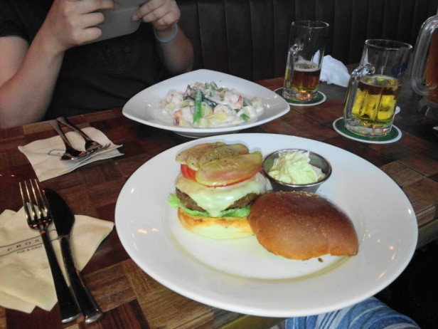 Prost Pub and Grill Itaewon Seoul food