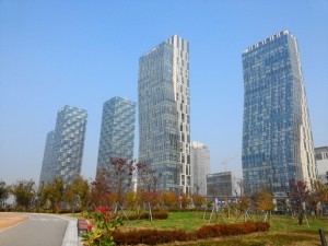 Songdo Central Park and Lake Incheon Apartments