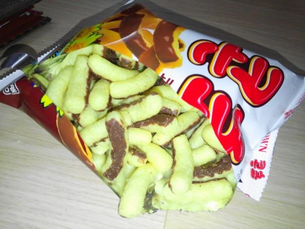 Corn Cho Korean Snack Chocolate