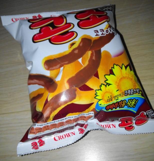 Corn Cho Korean Snack Front Bag