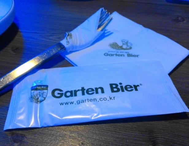 Garten Bier South Korea Napkins