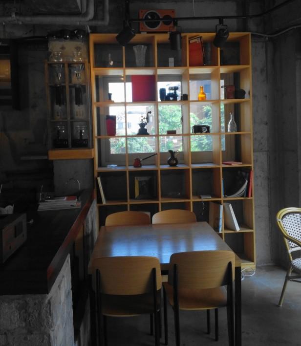 Grabie Coffee Hongdae Seoul display