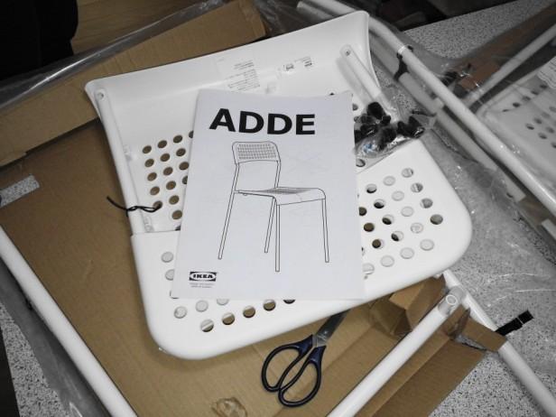 Ikea Adde Chair in Korea Parts