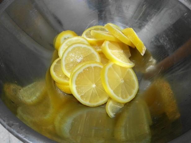 Korean Lemon Tea Sliced 1