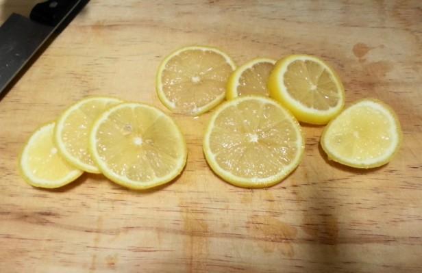 Korean Lemon Tea Sliced