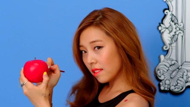 Ladies Code Kiss Kiss - Apple Paint