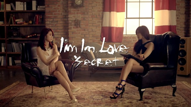 Secret I'm in Love KPOP banner