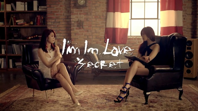 Secret I'm in Love KPOP banner