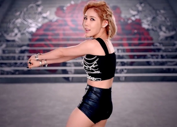 Secret I'm in Love KPOP twerk