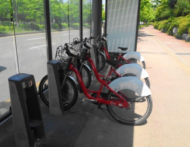 Seoul Rental Bicycle World Cup Stadium Park