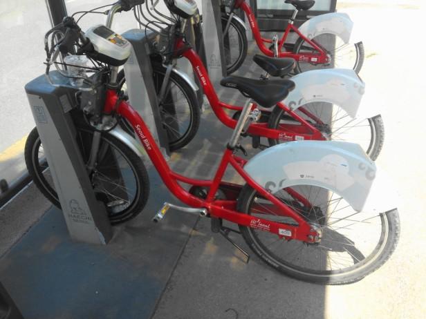 Seoul Rental Bike Summer