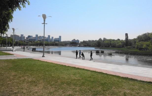 Seoul World Cup Park Lake