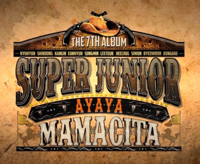 Super Junior Mamacita Banner