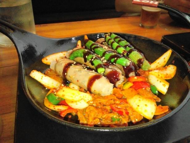 Wara Wara Restaurant Korea Sausage