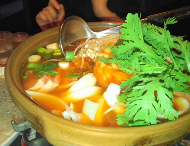 Wara Wara Restaurant Korea Stew