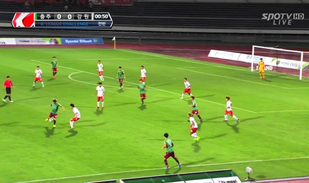 Chungju Hummel vs. Gangwon Sept 2014