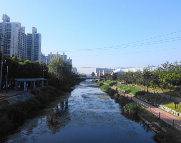 Gyeyang Stadium Incheon Asian Games River