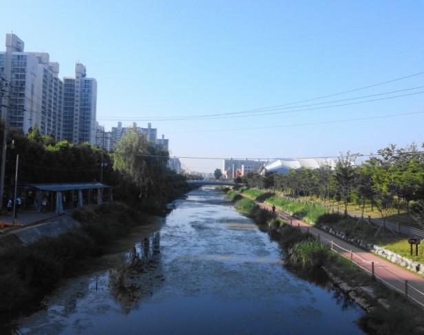 Gyeyang Stadium Incheon Asian Games River