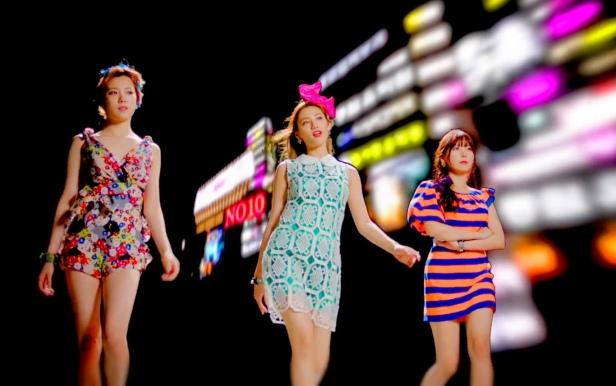 Orange Caramel The Gangnam Avenue - Group