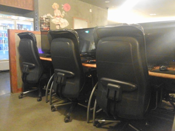 PC Bang Korean Internet Cafe Chairs