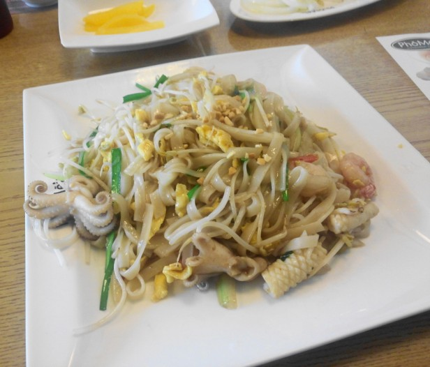 Pho Mein Vietnamese in South Korea Seafood Noodles