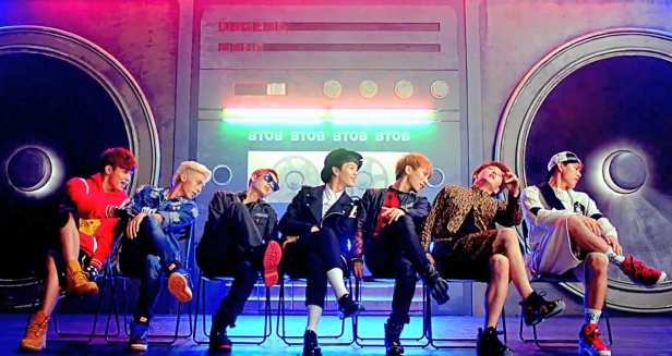 BTOB You're So Fly Boombox