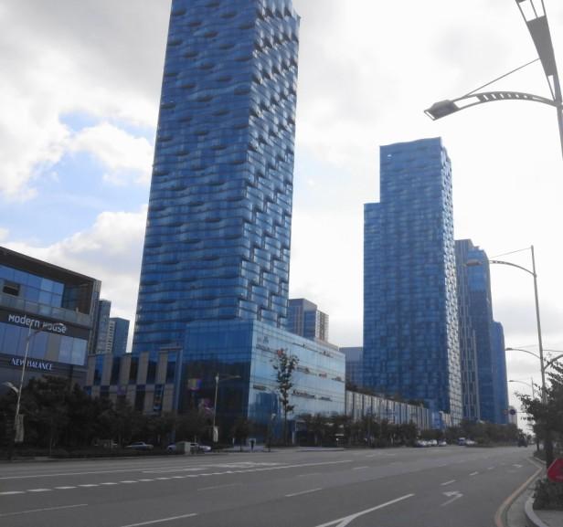 Songdo NC Cube Buildings