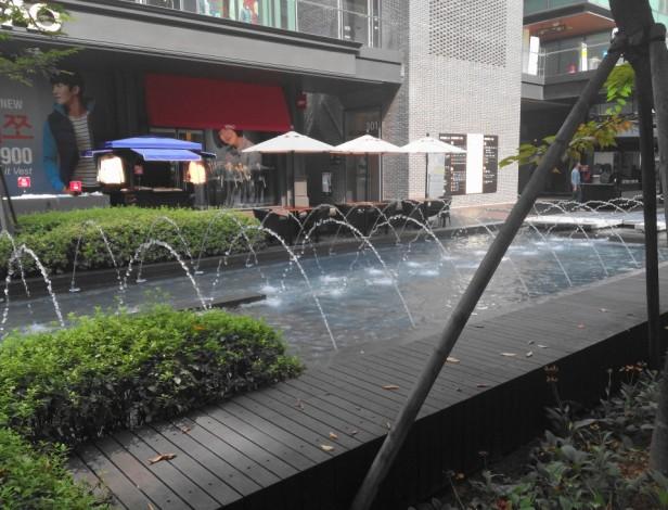 Songdo NC Cube Fountain
