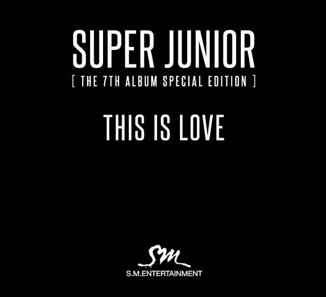 Super Junior This is Love Banner