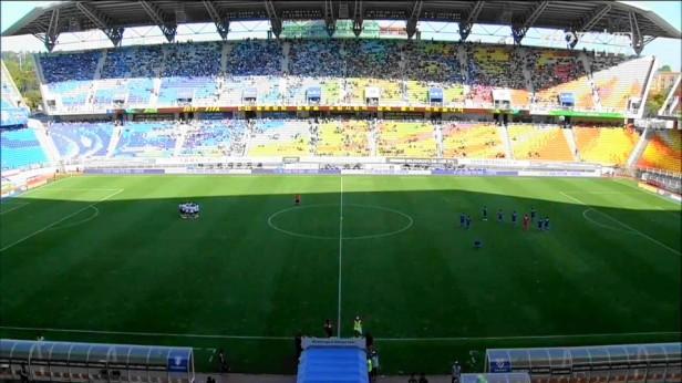 Suwon vs. Jeonnam at the Suwon World Cup Stadium