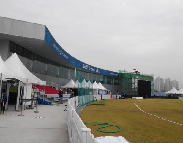 Yeonhui Cricket Ground Incheon Club House