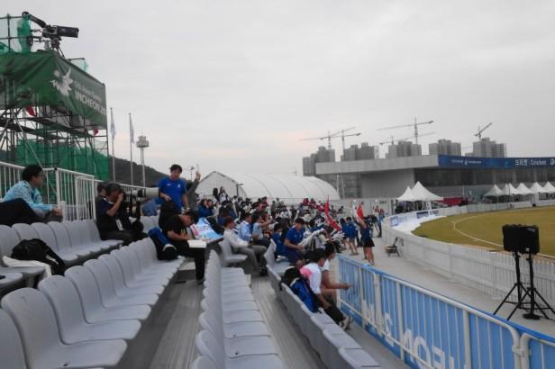 Yeonhui Cricket Ground Incheon Fans