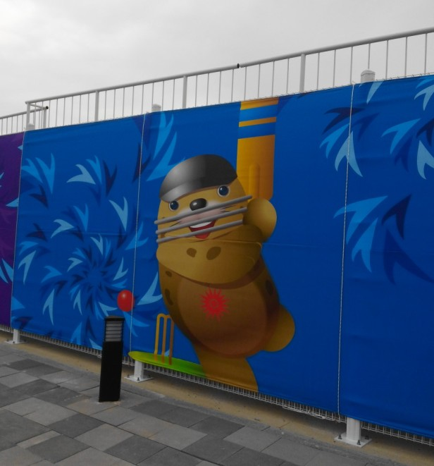 Yeonhui Cricket Ground Incheon Mascot Asian Games