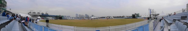 Yeonhui Cricket Ground Incheon Panoramic