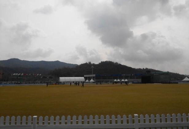 Yeonhui Cricket Ground Incheon South Korea vs. Malaysia