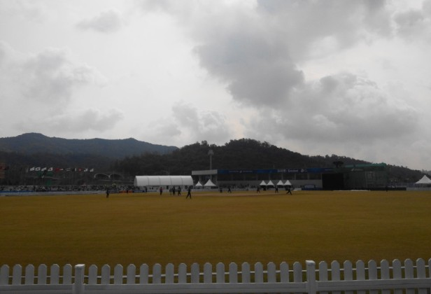 Yeonhui Cricket Ground Incheon South Korea vs. Malaysia