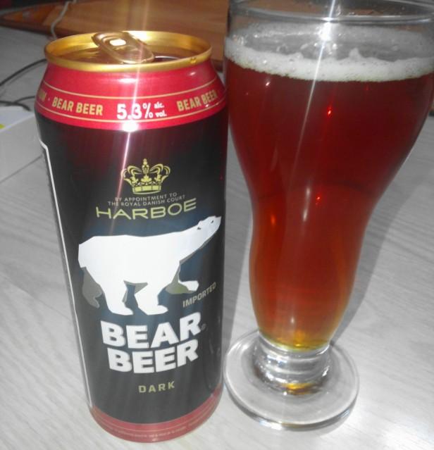 Bear Beer Dark in South Korea