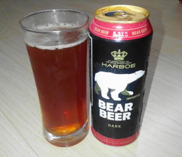 Bear Beer from Germany Dark Beer